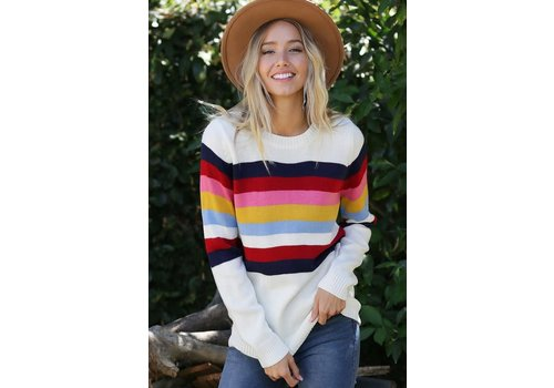 Retro Spring Sweater