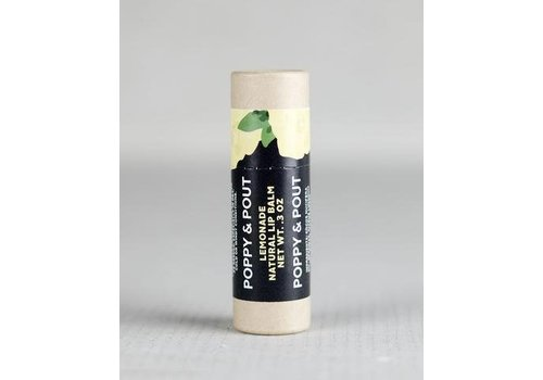 Lemonade Lip Balm by Poppy & Pout