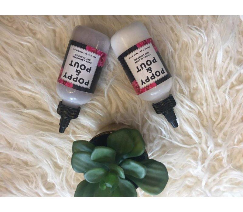 Dark+Brunette Dry Shampoo by Poppy & Pout