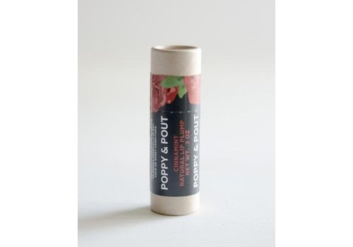 Cinnamint Lip PLUMP by Poppy & Pout