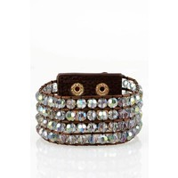 Crystal Beaded Cuffs in NEW Colors!