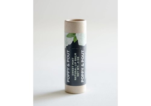 Sweet Mint Lip Balm by Poppy & Pout