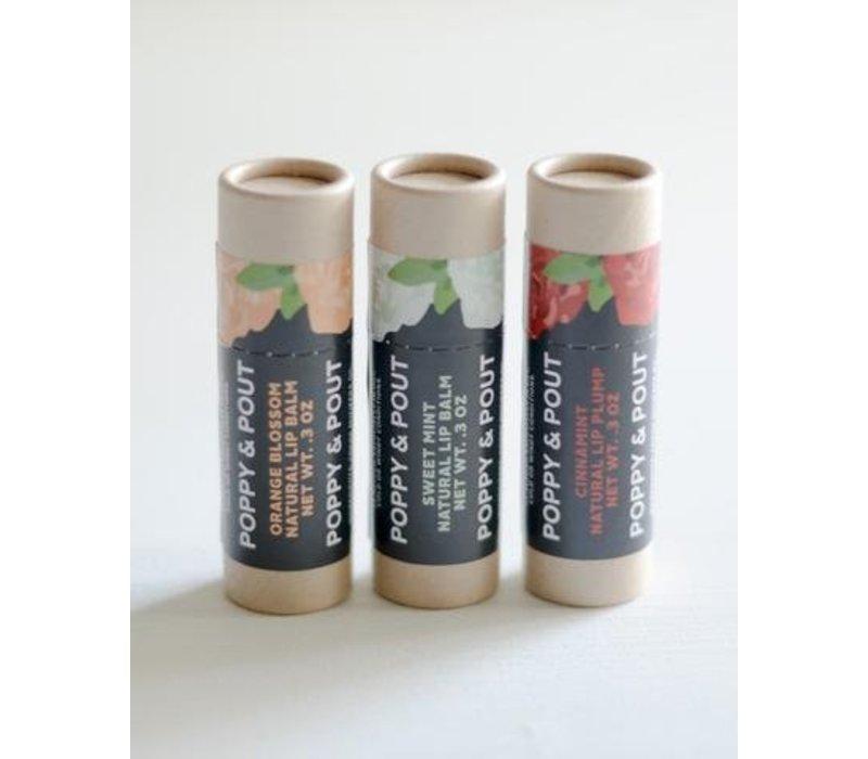 Sweet Mint Lip Balm by Poppy & Pout