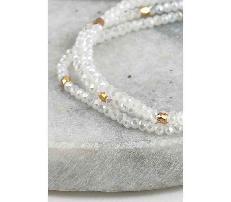 2 in 1 Dainty Wrap Bracelet & Necklace - 7 Color Choices