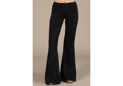 RESTOCK- Black Bell Bottoms (S-3X)