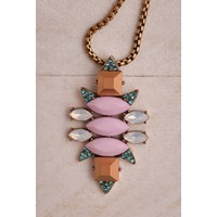 Goddess Gemstone Necklace