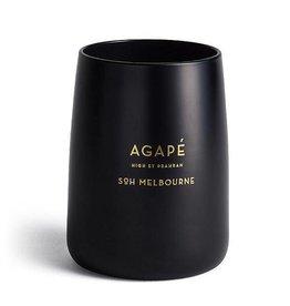 SOH MELBOURNE SOH MELBOURNE BLACK MATTE AGAPE CANDLE