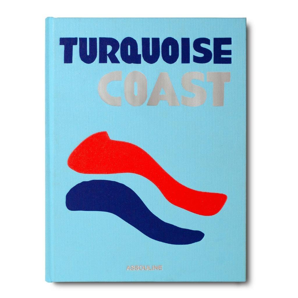 ASSOULINE TURQUOISE COAST BOOK