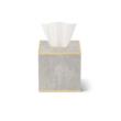 AERIN AERIN CLASSIC SHAGREEN TISSUE BOX COVER DOVE