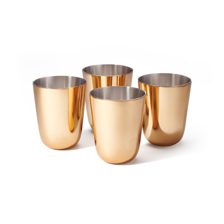 AERIN AERIN FAUSTO JULEP CUP, SET OF 4