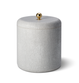 AERIN AERIN SHAGREEN ICE BUCKET DOVE