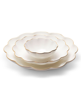 AERIN AERIN SCALLOPED NESTING DISH, SET OF 3