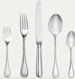 CHRISTOFLE CHRISTOFLE ALBI SILVER FLATWARE 5PC SETTING