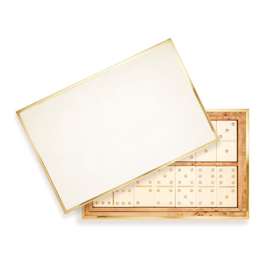 AERIN AERIN SHAGREEN DOMINO SET