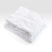 BRAHMS MOUNT TEXTILES COTTON RIB BLANKET