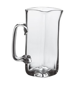 SIMON PEARCE WOODBURY GLASS PITCHER