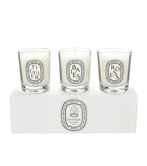 DIPTYQUE DIPTYQUE MINI SET OF 3 CANDLES