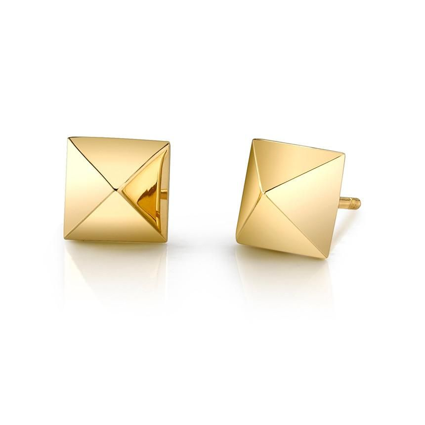 ANITA KO ANITA KO 18K YELLOW GOLD SPIKE STUD