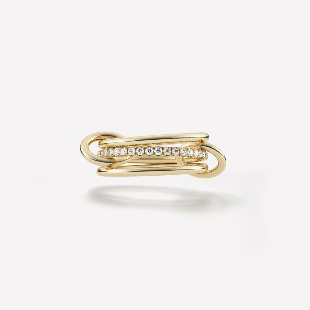 SPINELLI KILCOLLIN 18K YELLOW GOLD SONNY RING 6.5