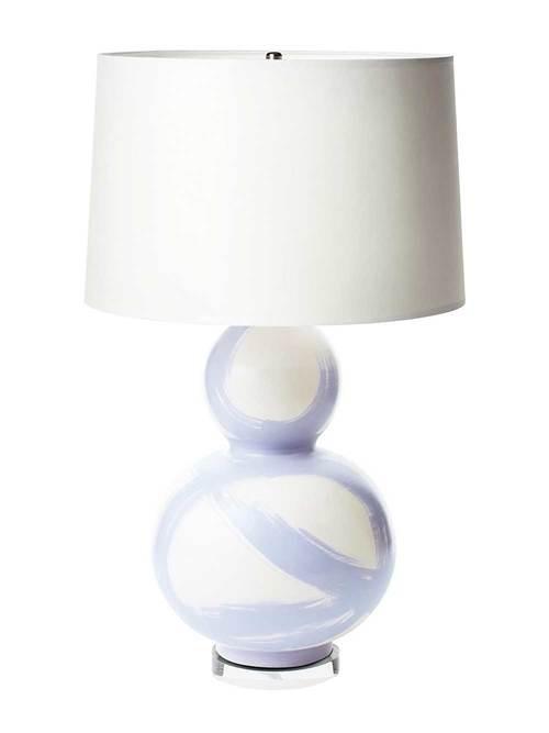 JANA BEK JANA BEK LILAC BRUSHSTROKE SMALL LAMP