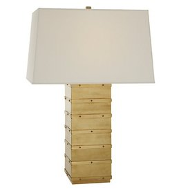 VISUAL COMFORT RALPH LAUREN NATURAL BRASS BLEEKER LAMP
