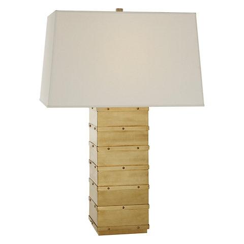 RALPH LAUREN NATURAL BRASS BLEEKER LAMP