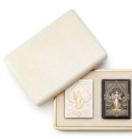 AERIN AERIN CREAM SHAGREEN CARD CASE
