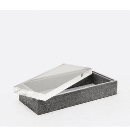 MADE GOODS MADE GOODS COOL GREY JASEN RECTANGLE BOX