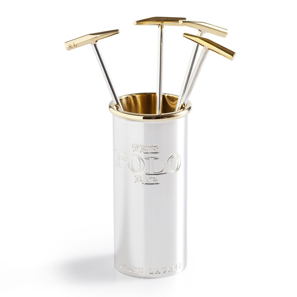RALPH LAUREN HOME RALPH LAUREN KIPTON COCKTAIL PICKS WITH HOLDER
