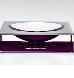 ALEXANDRA VON FURSTENBERG AVF LARGE VOLTAGE AMETHYST CANDY BOWL