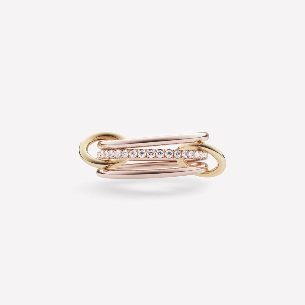 SPINELLI KILCOLLIN SPINELLI KILCOLLIN 18K ROSE GOLD SONNY RING 6.5