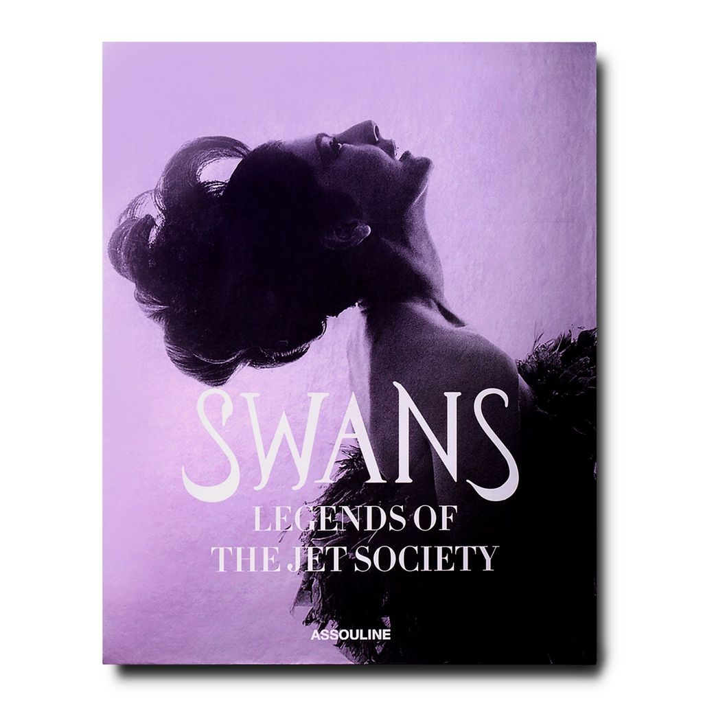 ASSOULINE SWANS: LEGENDS OF THE JET SET SOCIETY BOOK