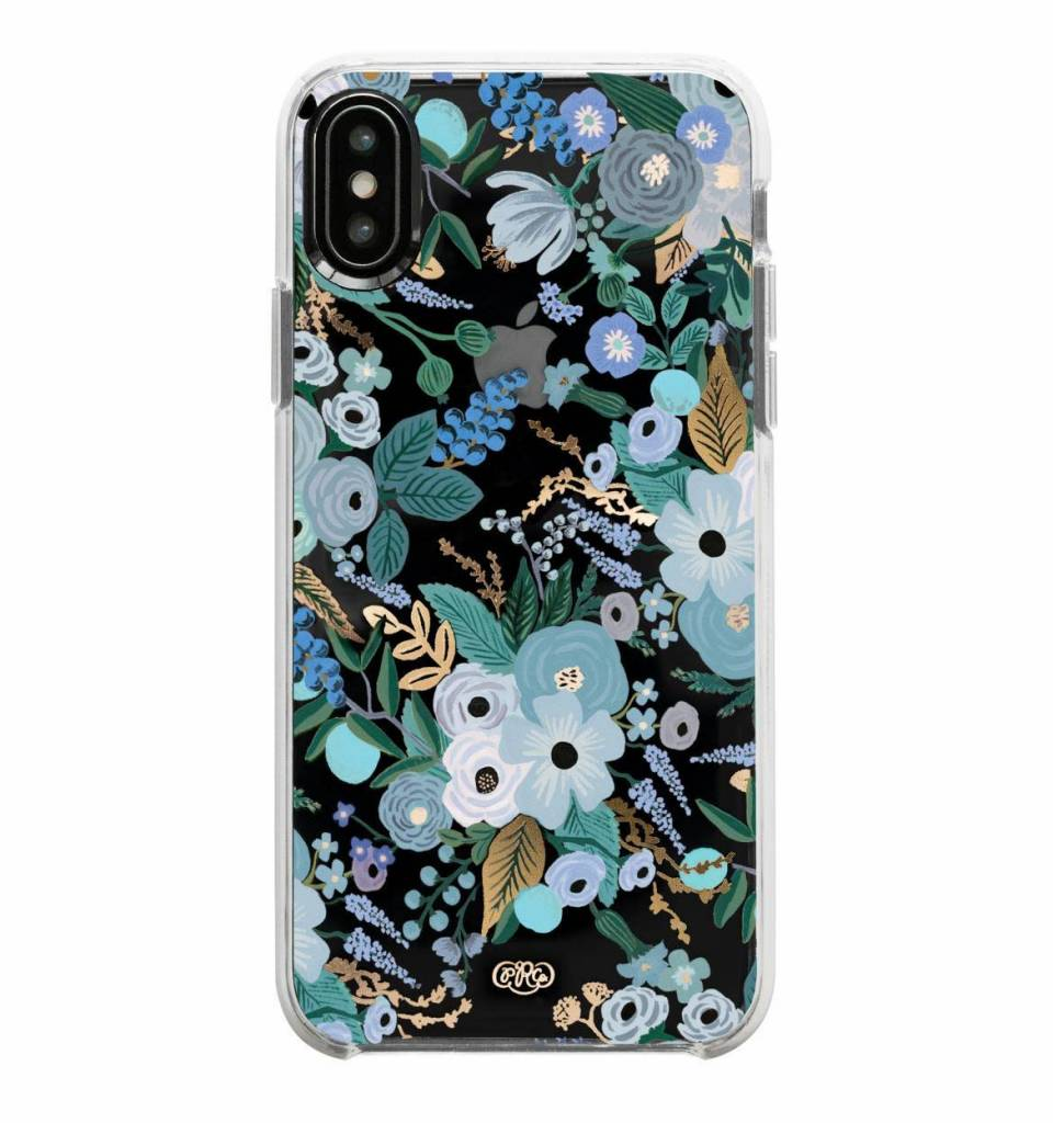 Rifle Paper Co. Garden Party Blue iPhone Case