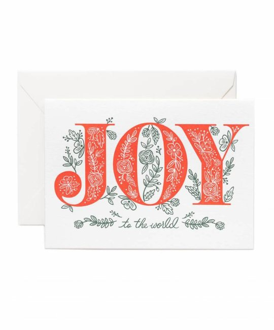 Rifle Paper Co - RP Joy to the World