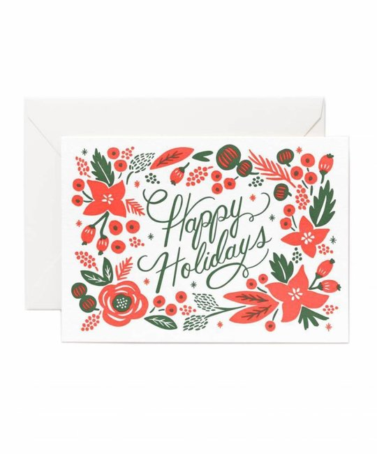 Rifle Paper Co - RP RPGCHO0041 - Poinsettia 4Bar