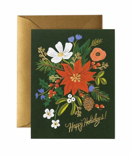 Rifle Paper Co - RP Rifle Paper - Holiday Bouquet Note Set