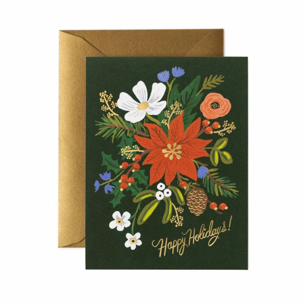 Rifle Paper Co - RP Rifle Paper - Holiday Bouquet