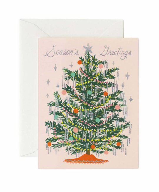 Rifle Paper Co. Tinsel Tree Greeting Card