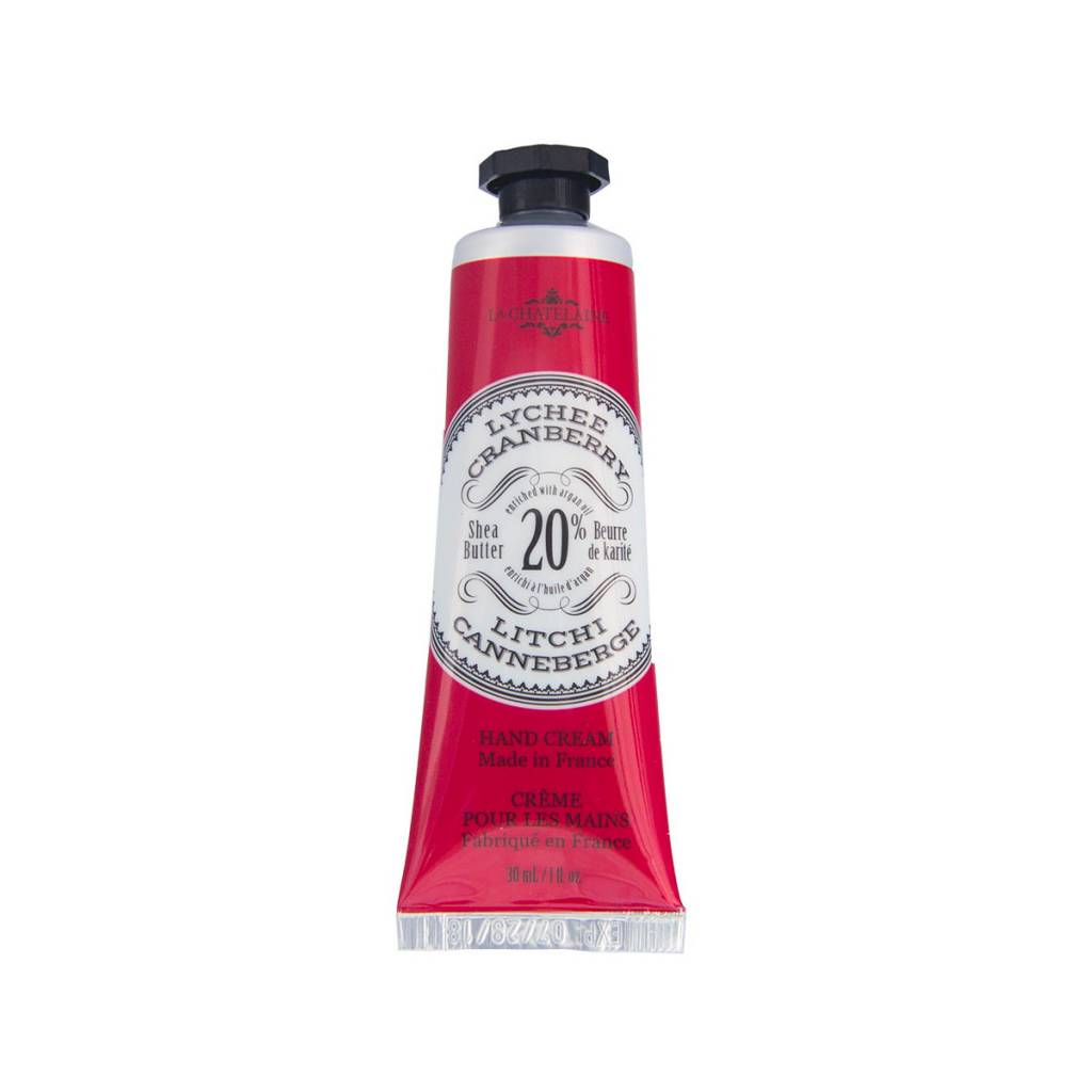 La Chatelaine Lychee Cranberry Hand Cream