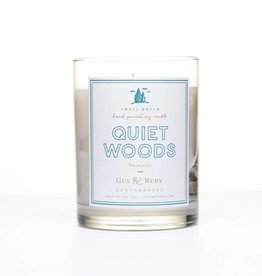 Gus and Ruby Letterpress Gus and Ruby Quiet Woods Candle