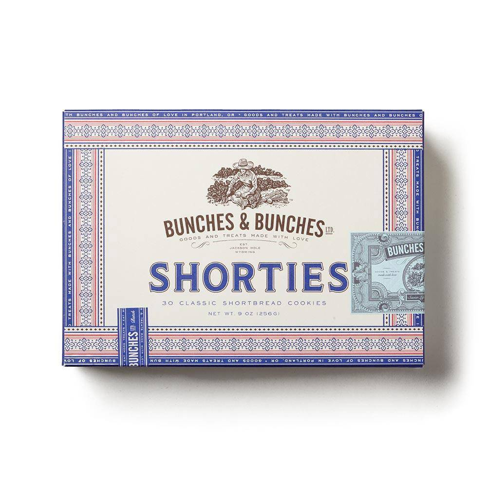 Bunches & Bunches BUBFAD - Shorties Shortbread Cookies