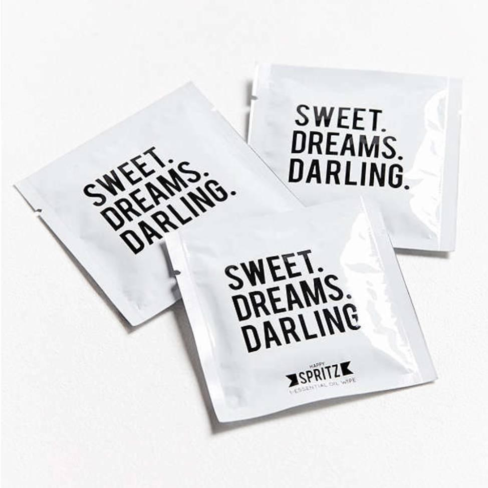 Happy Spritz Essential Oil Towelette 7 Day Bag