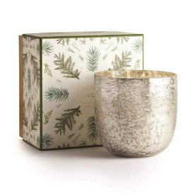 illume candles Balsam Luxe Sanded Mercury Glass Candle