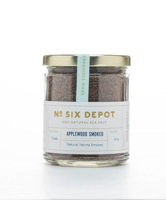 No. Six Depot Yakima Applewood Smoked Sea Salt