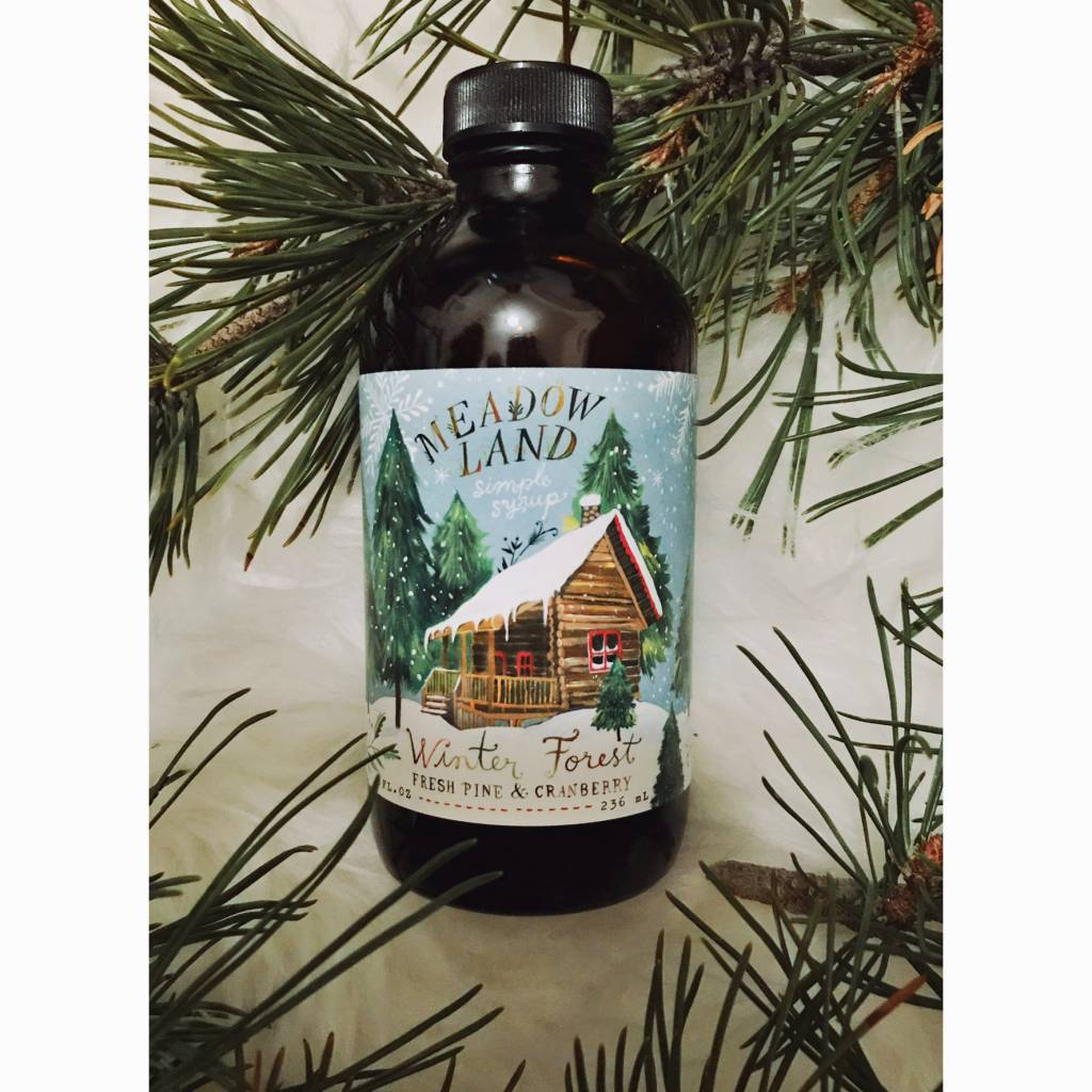 Meadowland MEAFAD - Winter Forest Syrup (Fresh Pine and Cranberry)