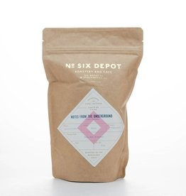 No. Six Depot Notes from the Underground Whole Bean Espresso 10oz