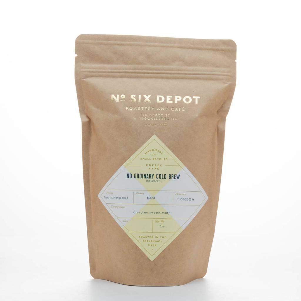 No. Six Depot No Ordinary Cold Brew Whole Bean Coffee 10oz