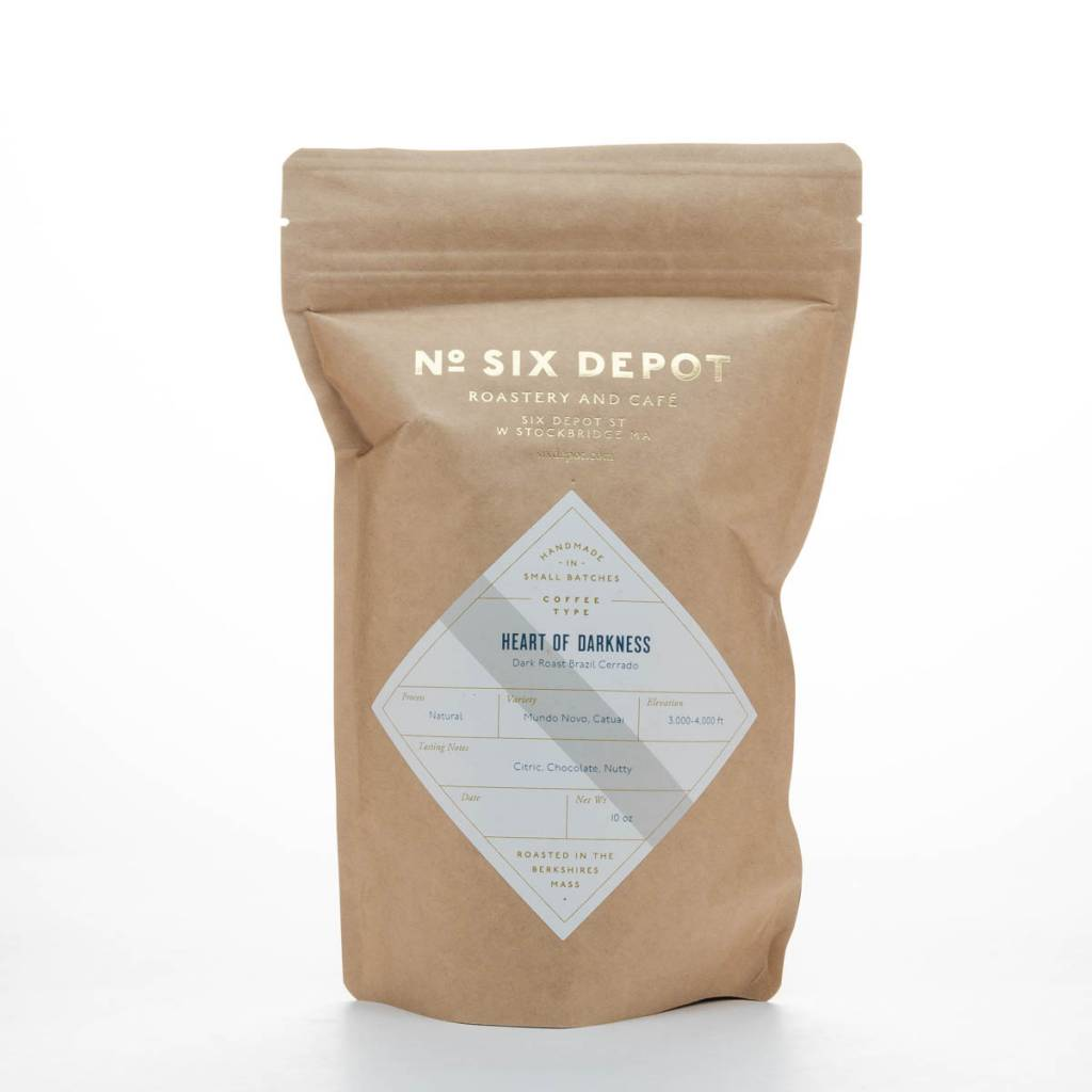 No. Six Depot Heart of Darkness Whole Bean Coffee 10oz