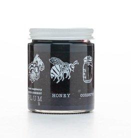 V Smiley Preserves Black Raspberry Sour Cherry Plum Conserve
