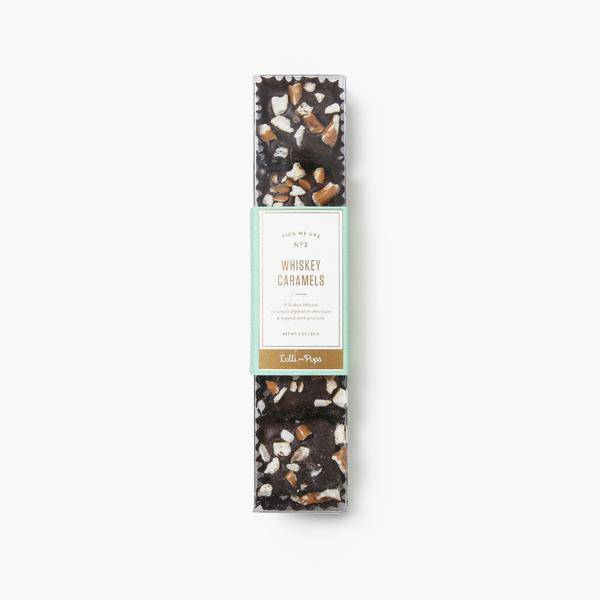 Lolli and Pops 5 Piece Whiskey Sea Salt Caramels